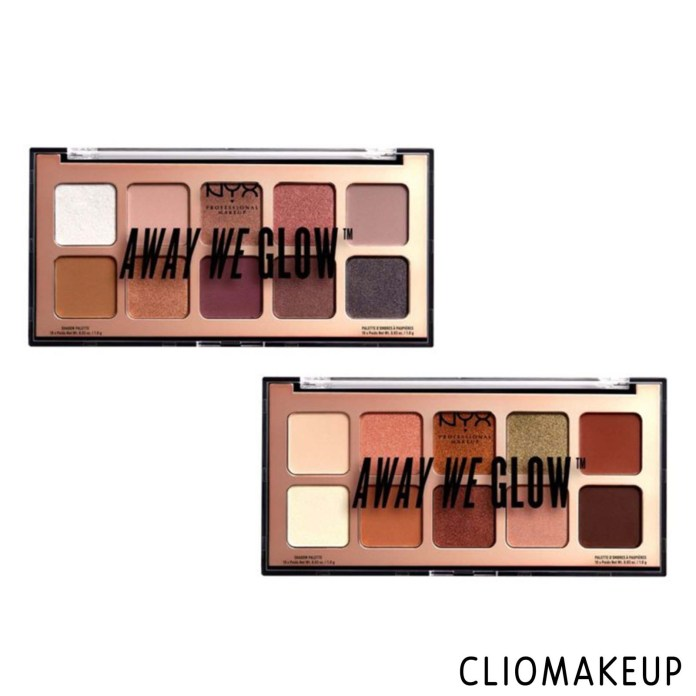cliomakeup-recensione-palette-nyx-away-we-glow-lovebeam-3
