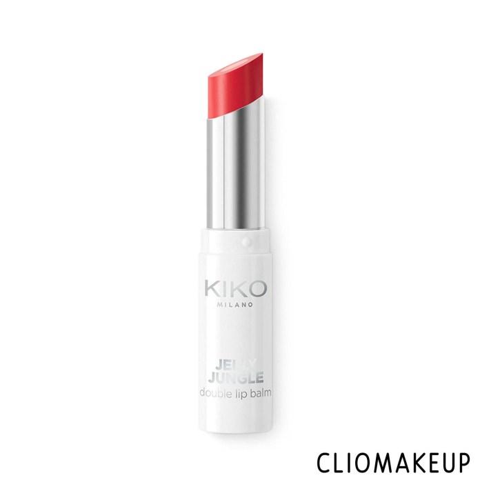 cliomakeup-recensione-balsamo-labbra-kiko-jelly-jungle-double-lip-balm-1
