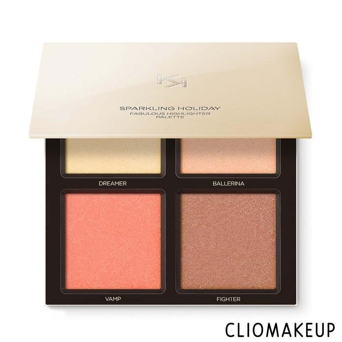 cliomakeup-recensione-illuminanti-kiko-sparkling-holiday-fabulous-highlighter-palette-3