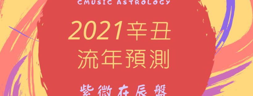 2021辛丑流年預測 - 紫微在辰盤