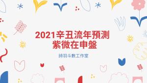 2021辛丑流年預測 - 紫微在申盤