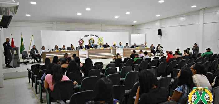 Sessão Solene de Fim de Ano na Câmara Municipal de VTX-PA