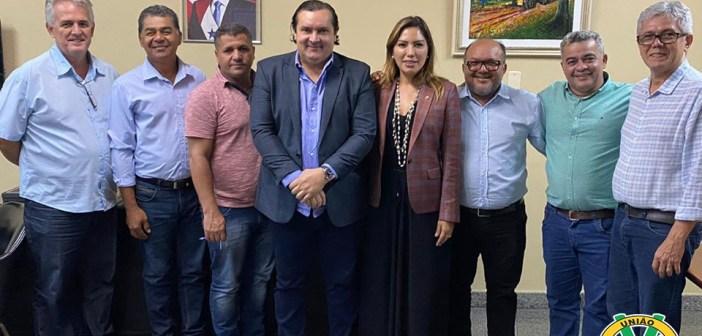 Representantes do Legislativo de VTX cumpre agenda na Capital Paraense