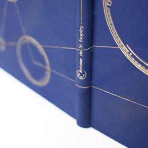 Livre reliure Atelier Dreieck, fabriqué en France