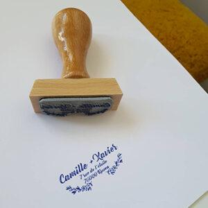 Création personnalisée tampon Studio 10, fabriqué en France