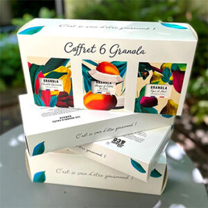Produit goûter petit-déjeuner granola Bam&co, fabriqué en France