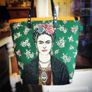 Sac Frida Kahlo Célestine de Balma, fabriqué en france à Montauban en Occitanie