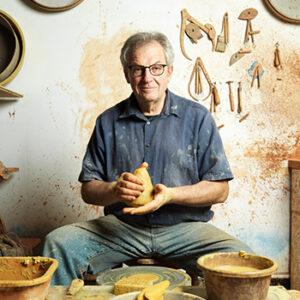 Sylvain Meschia dans son atelier de fabrication française