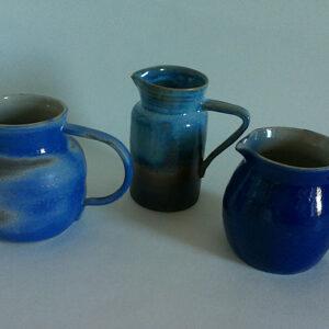 Carafes en céramiques Anny Lecoq, fabriquées en Savoie