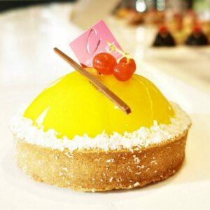 Gateau au citron boulanger pâtissier Chouët, créé en Bretagne