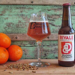Bière rivale Brasserie Duchmann, fabriquée en France à Chaumon-En-Vexin dans les Hauts-de-France