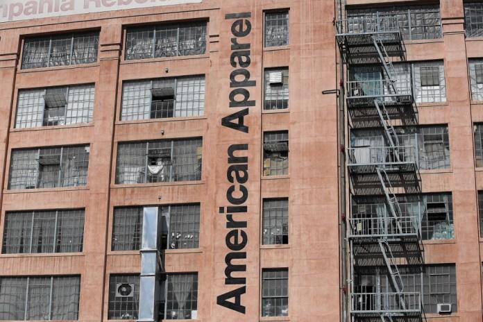 American Apparel 總部、工廠以及 110 個美國零售店將全面關閉