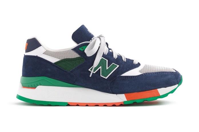 New Balance x J.Crew 全新聯名 998「Toucan」鞋款