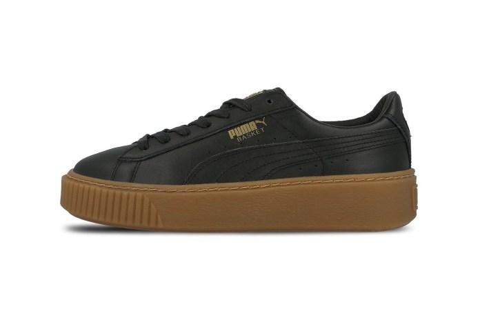 PUMA 推出全新鞋款 Basket Platform