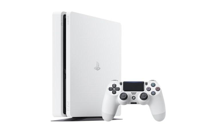 Sony PlayStation 4 Slim 遊戲主機推出全新「Glacier White」配色