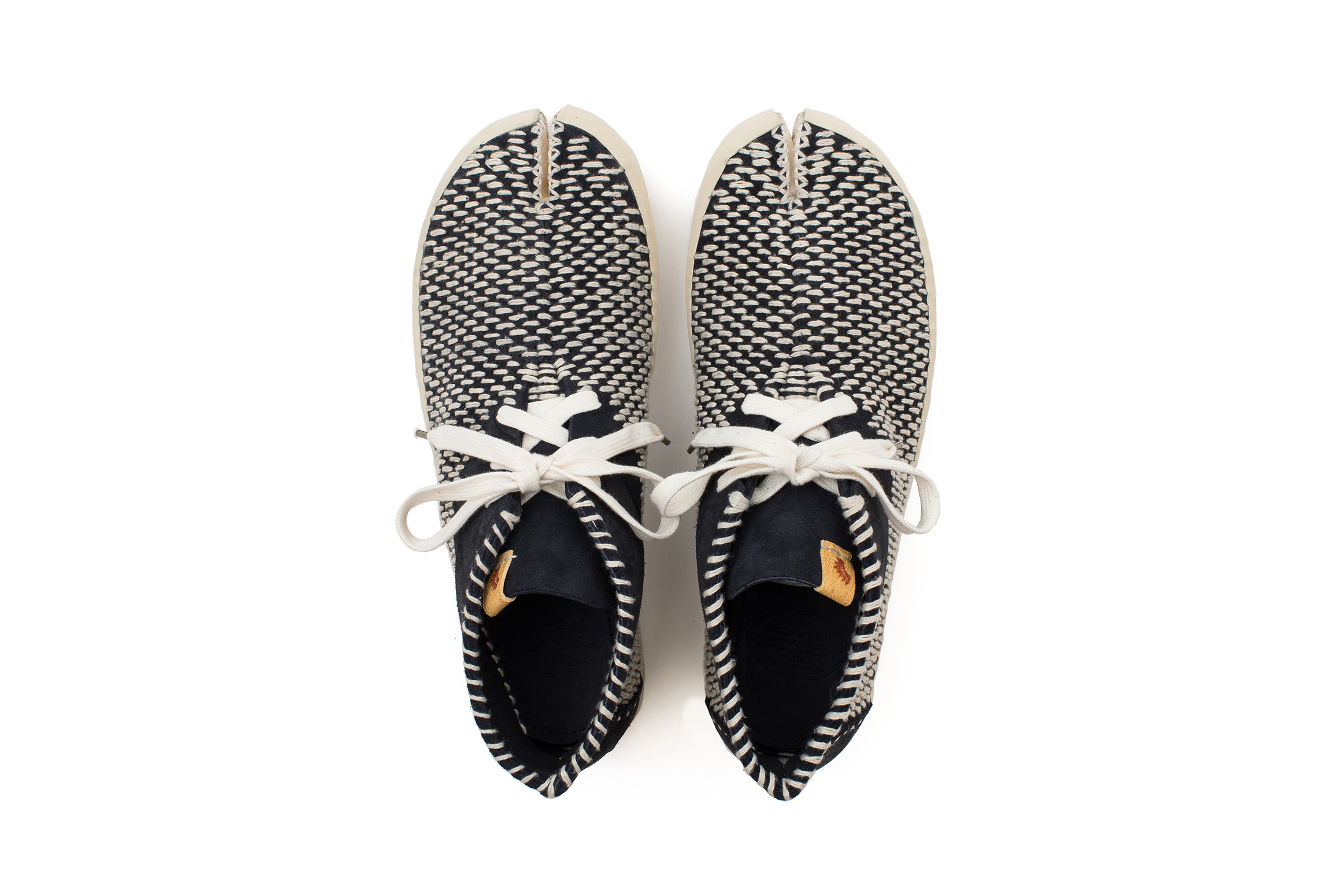 visvim TABI SASHIKO-FOLK Split-Toe Shoe 2017 Release - 600455
