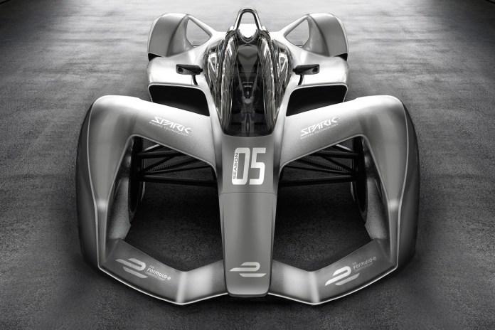 Formula E 電動方程式 2018 全新概念車 SRT05e 曝光
