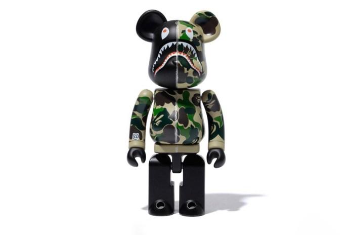 BAPE x Medicom Toy 超合金 ABC CAMO SHARK BE@RBRICK 發售情報公開