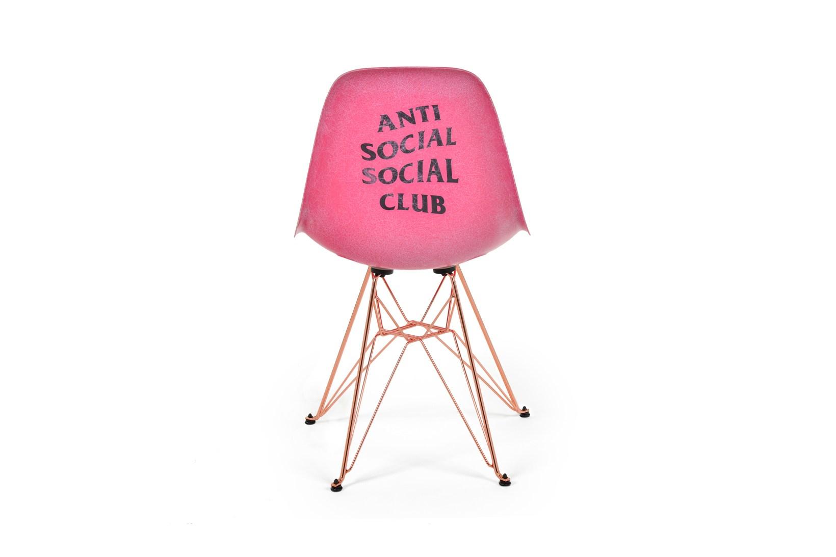 Anti Social Social Club x Modernica Eiffel Side Shell Chair - 614600