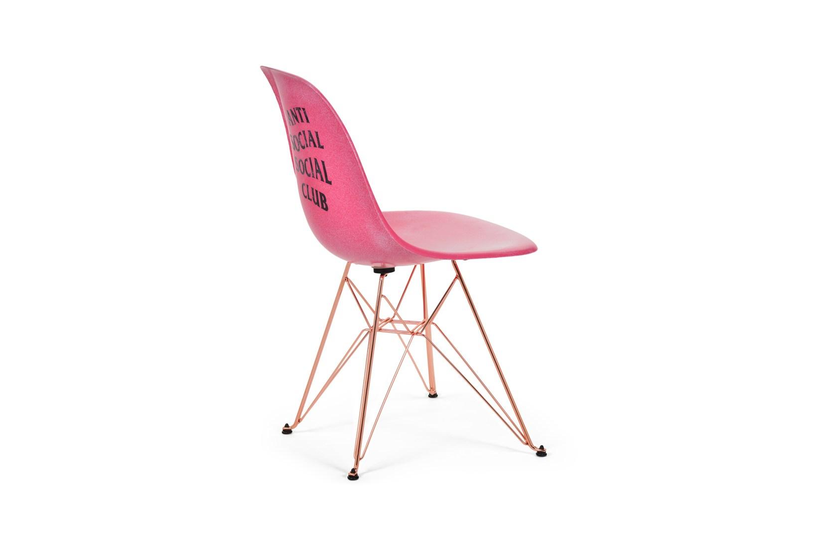 Anti Social Social Club x Modernica Eiffel Side Shell Chair - 614601