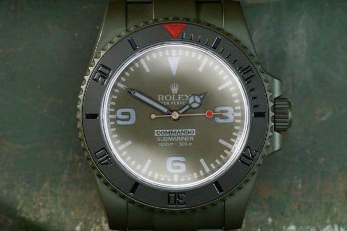 Bamford Watch Department 全新訂製 ROLEX 手錶系列「Commando Edition」