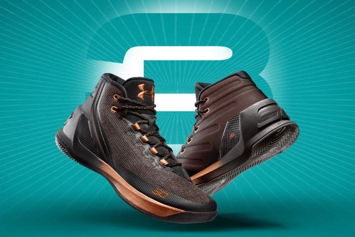Under Armour 推出 Curry 3 全明星系列鞋款