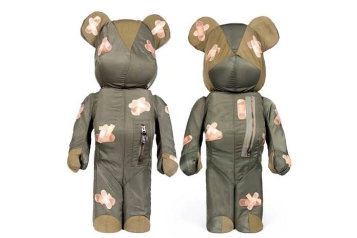 DRx Romanelli 釋出更多手作 BE@RBRICK 玩偶設計