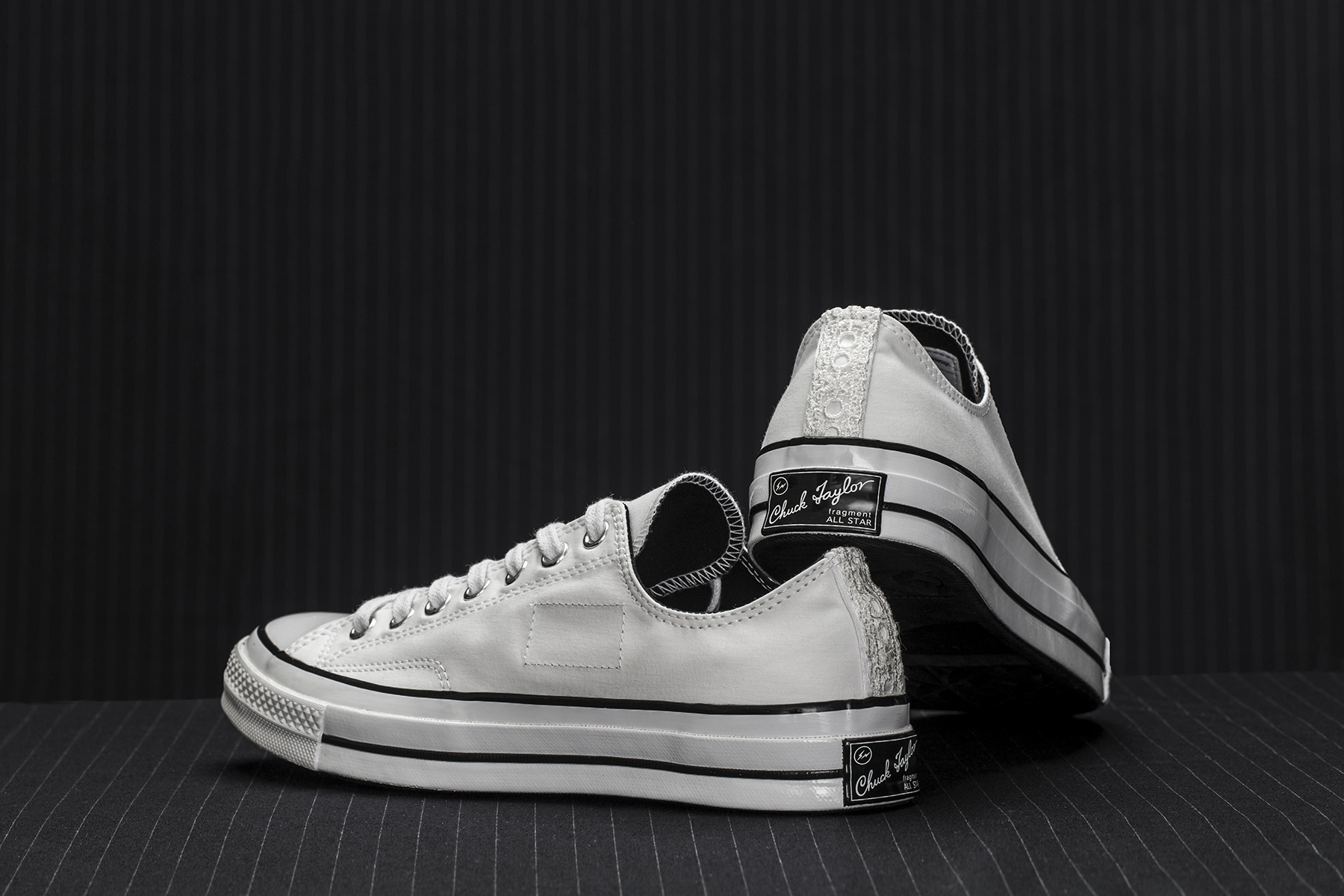 "fragment design x Converse Chuck Taylor All Star '70 ""Tuxedo Pack"" - 613896"