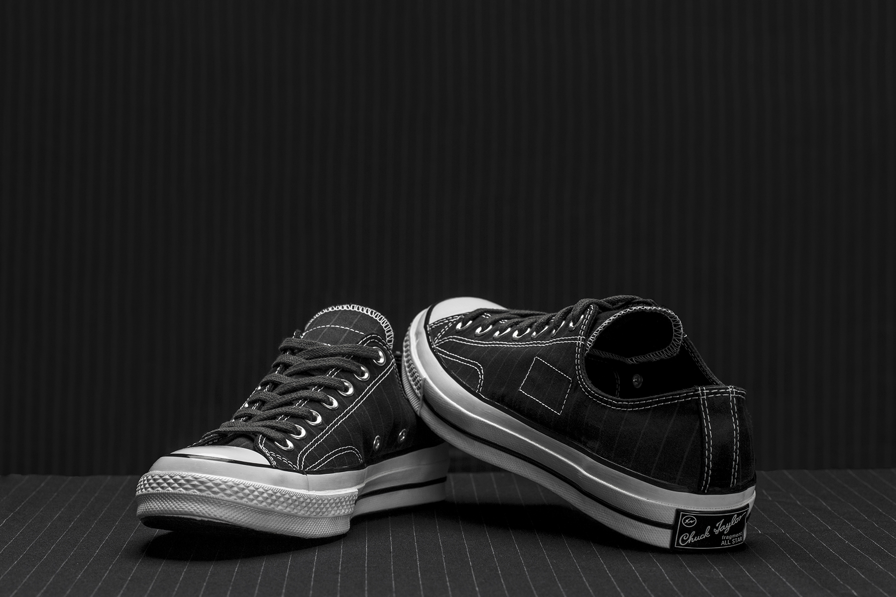 "fragment design x Converse Chuck Taylor All Star '70 ""Tuxedo Pack"" - 613891"