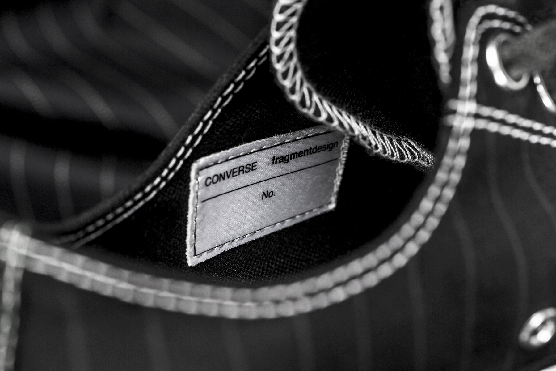 "fragment design x Converse Chuck Taylor All Star '70 ""Tuxedo Pack"" - 613893"