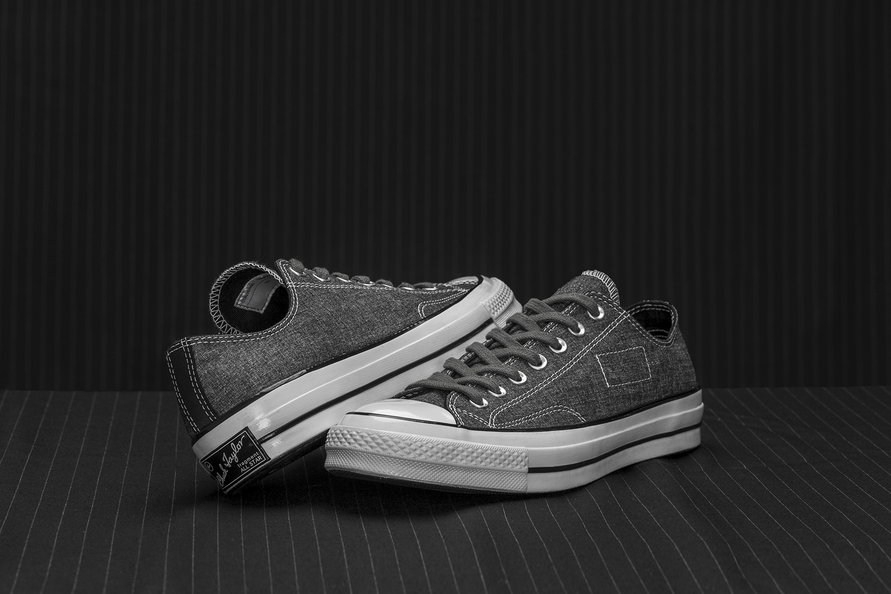 "fragment design x Converse Chuck Taylor All Star '70 ""Tuxedo Pack"" - 613894"