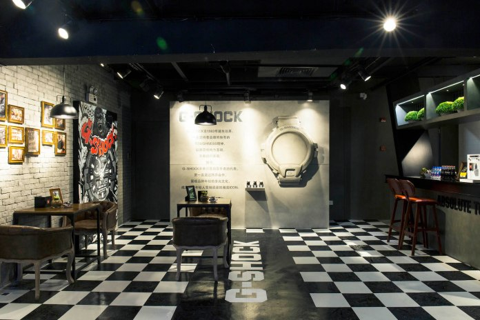 走進 G-SHOCK x FRANK'S CHOP SHOP & MARLEY COFFEE 期間限定店舖