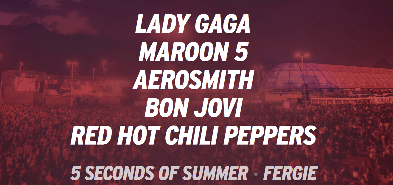 Rock in Rio announced Lady Gaga as the latest artist in its roster.