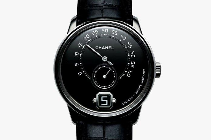 Baselworld 2017 前哨戰﹣CHANEL 最新 Monsieur de CHANEL 黑魂配色登場