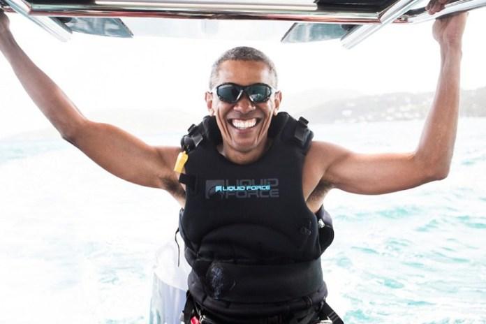 技能解鎖-奧巴馬於加勒比海學習衝浪