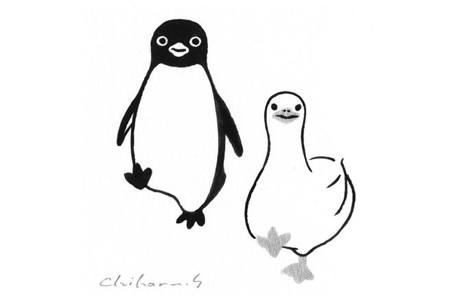 Suica 上的企鵝要辦展啦!坂崎千春「企鵝百態 II」新宿伊勢丹開催