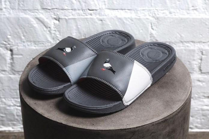 Staple Pigeon x SANDALBOYZ 聯名拖鞋