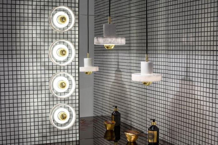 Tom Dixon 推出全新「STONE」大理石燈飾系列