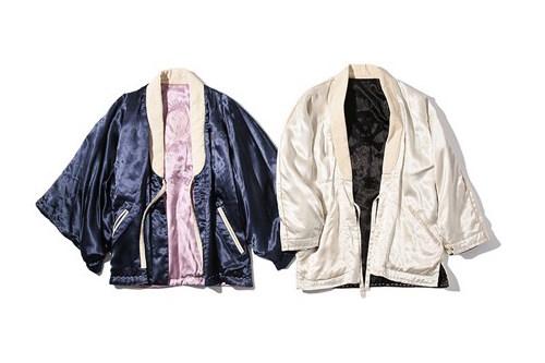 visvim & WMV 2017 春夏全新橫須賀和服外套