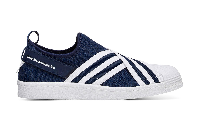 White Mountaineering x adidas Originals Superstar Slip-On - 613804
