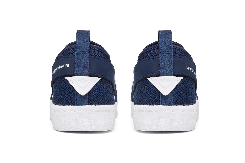White Mountaineering x adidas Originals Superstar Slip-On - 613807