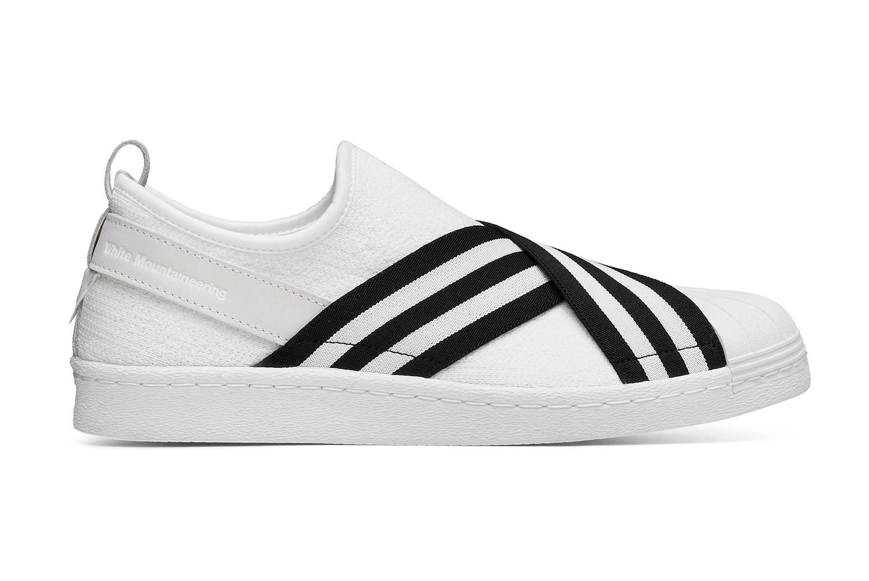 White Mountaineering x adidas Originals Superstar Slip-On - 613808