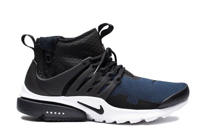 Nike Air Presto Mid SP 全新配色設計「Obsidian」