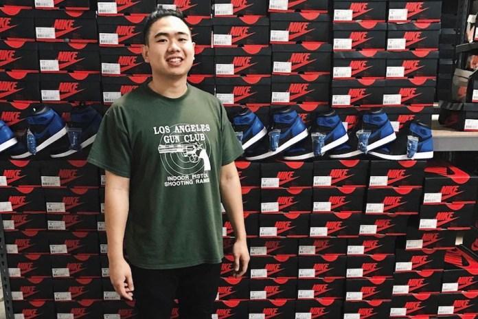 華裔鞋販 Allen Kuo 提前曬出百餘雙 Air Jordan 1「Royal」復刻配色