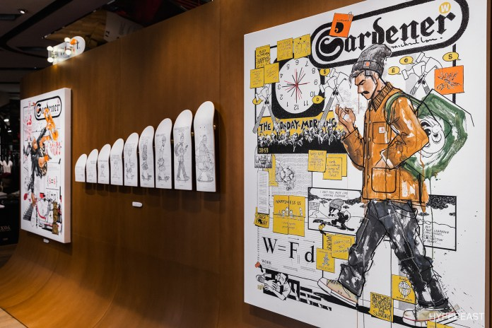 走進 Carhartt WIP x Michael Lau 藝術展「CARH-ART-T WORK IN EXHIBITION - PLAYWORK」