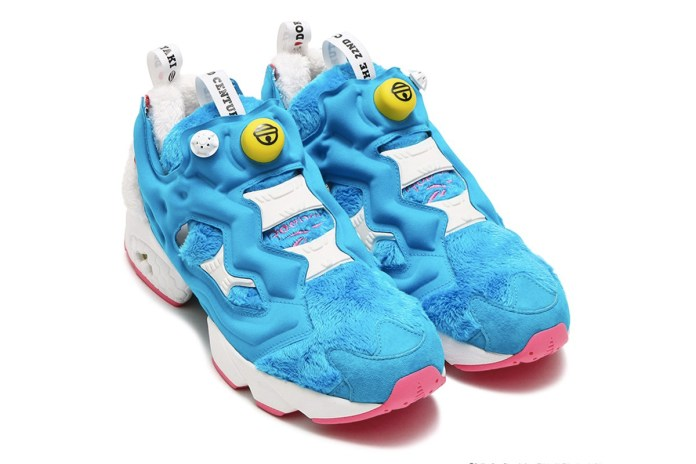 Doraemon x Packer Shoes x Reebok 聯名 Instapump Fury 正式發佈