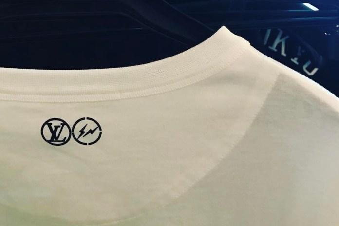藤原浩曝光 fragment design x Louis Vuitton 2017 聯名系列多款單品設計
