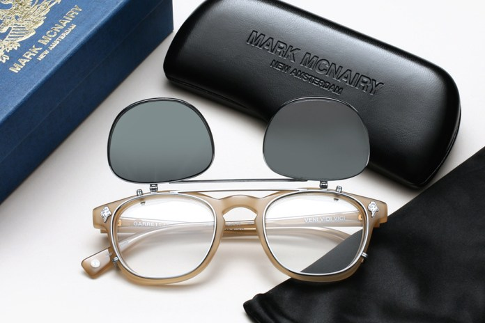 Mark McNairy x Garrett Leight California Optical 全新聯名太陽眼鏡「Valdese」