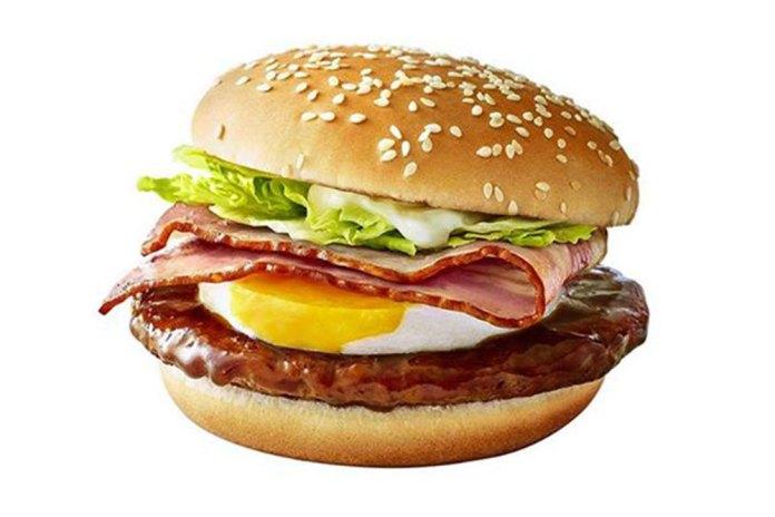 日本 McDonald's 推出巨型培根照燒蛋漢堡