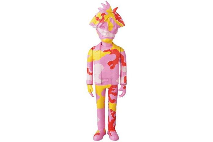 Medicom Toy 推出 Andy Warhol 玩偶「CAMO」版本